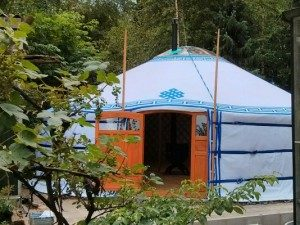 Kruidenwandeling en Yoga Yurt workshops Peso Emmen