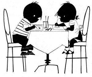 Jip en Janneke in Scheepstra Kabinet