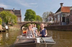 Het water op Marenland Winsum