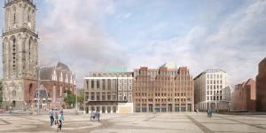 Nieuw WestCord Hotel aan de Grote Markt Groningen krijgt dakterras met tweehonderd zitplaatsen!