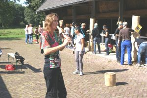 Totems maken in Drenthe