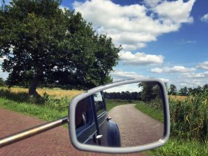 Drenthe Route met eend & picknickmand