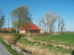 Die Breekate Noordzee Refugium Schiereiland Butjadingen