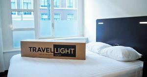 Nooit meer slepen met je koffer dankzij Travel Light