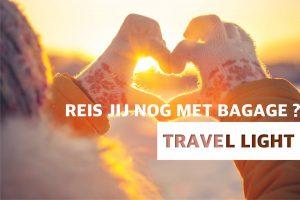 Nooit meer slepen met je bagage dankzij Travel Light