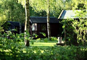 Trekkershutten van De Groene Koepel in Groningen