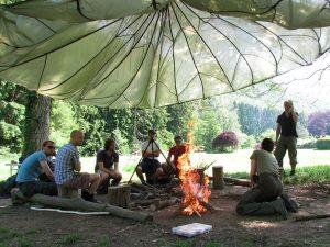 Bushcraft workshops van Wildernisschool Outback in Drenthe