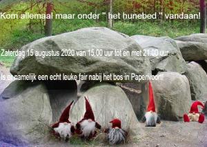 Fair nabij het bos in Papenvoort