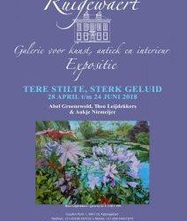 28 APRIL t/m 24 juni Galerie Ruigewaert Appingedam