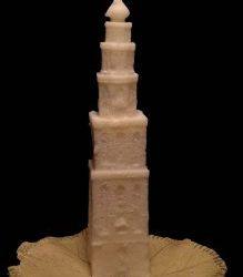 Martinitoren van Koolzaadwas-kaarsenmakerij Om de Noord