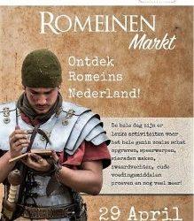 Romeinenmarkt 29 april Museum Wierdenland